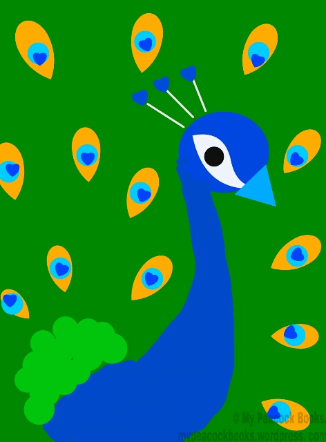 Image of Phoenix the Peacock the site mascot
