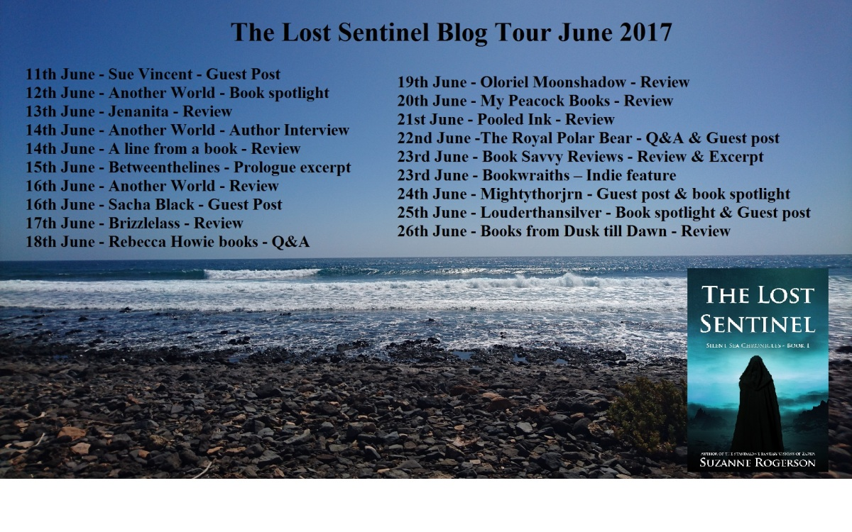 #BlogTour #BookReview: The Lost Sentinel by Suzanne Rogerson #MPBooks