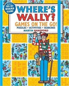 Where's Wally Games on the Go book cover